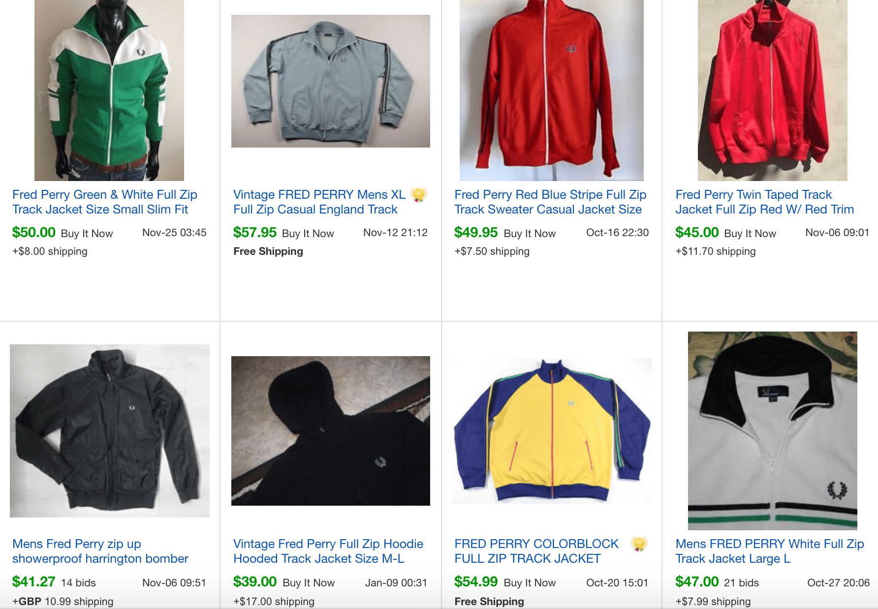 How To Make Money Reselling Fred Perry Jackets On Ebay Thrifteo