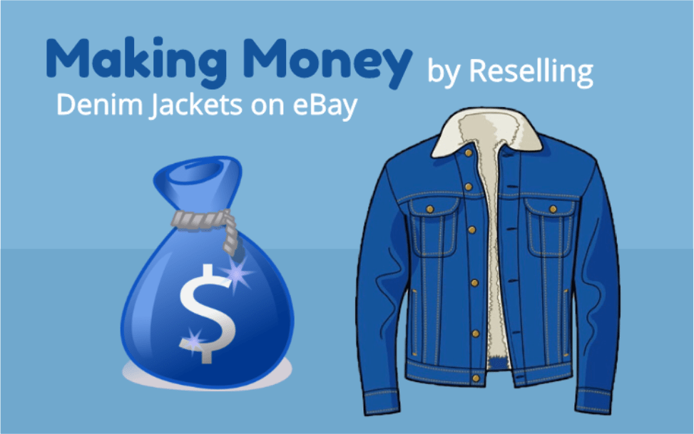 Making Money by Reselling Denim Jackets on eBay