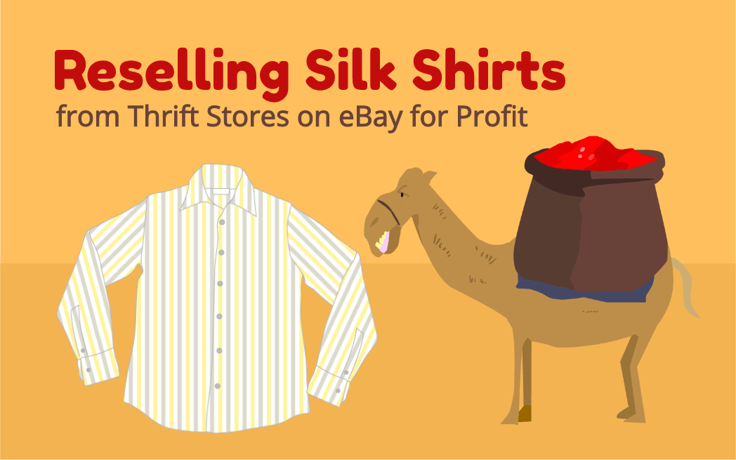 Reselling Silk Shirts from Thrift Stores