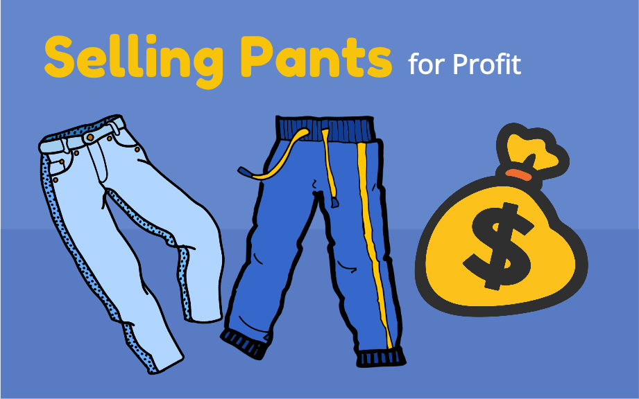 selling pants for profit ebay