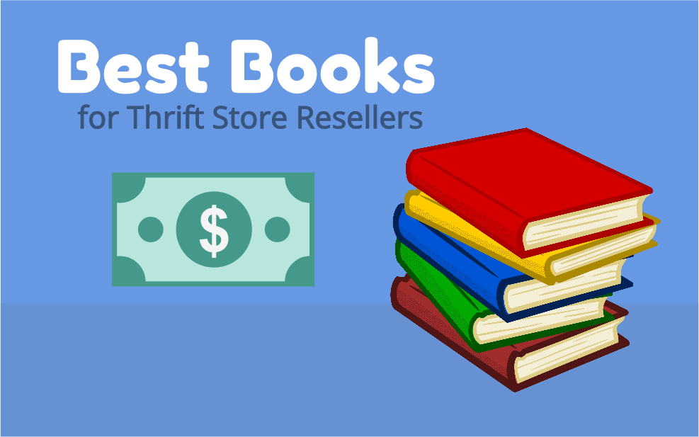 5 Best Books About Flipping Thrift Store Items for Profit on eBay